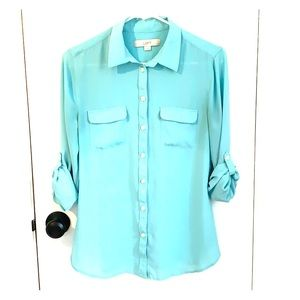 Anne Taylor LOFT button-down blouse